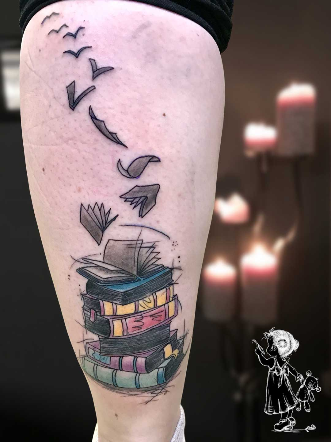 Bücher Sketchy Tina Lee Tattoo Artist
