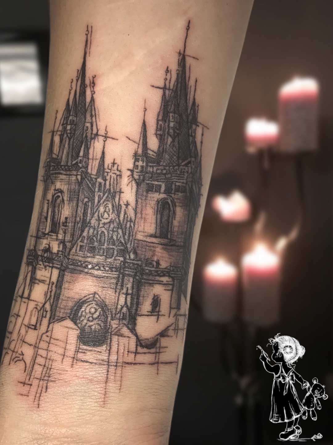 Kirche Sketchy Tina Lee Tattoo Artist